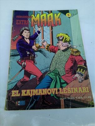 Komandant Mark Extra br.5-El Kajmanovi lešinari