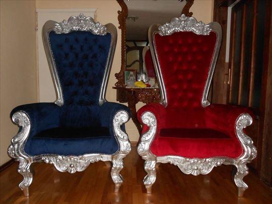 Stilske fotelje,tron,visina 190 cm,novo