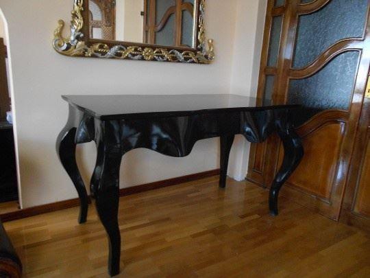 Stilski kancelarijski sto, puno drvo, novo