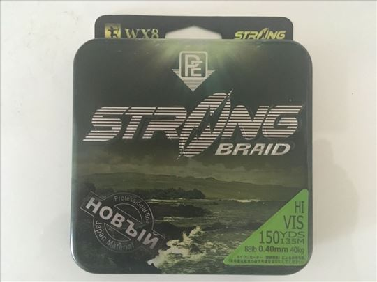 Struna Strong Braid Hi VIS 150YDS 135m