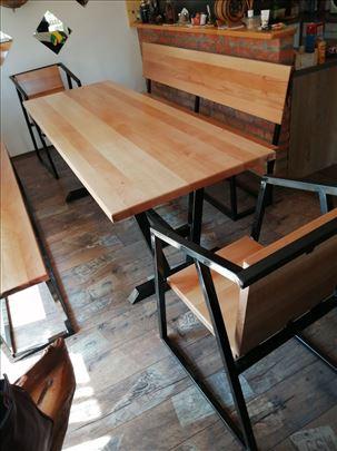 Novo, industrijski dizajn - stolovi i stolice