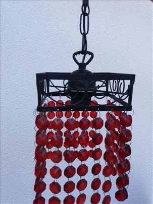 Originalan art deco luster od kovanog gvožđa
