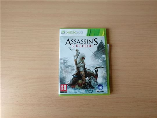 Assassins Creed 3 igrica za XBOX 360 konzole