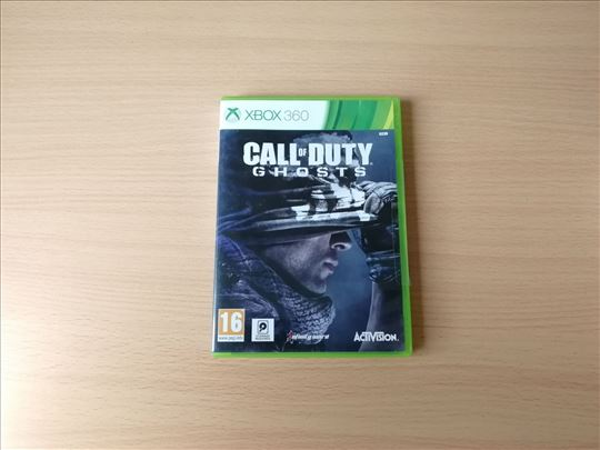 Call of Duty Ghosts igrica za XBOX 360 konzole