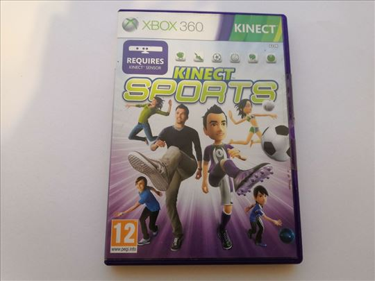 Kinect Sports igrica za XBOX 360 konzole