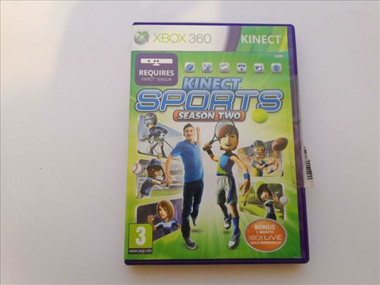 Kinect Sports Season Two igrica za Xbox 360
