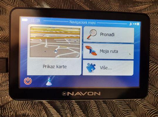 """Navon 5"""" cela Evropa i Srbija 2020 bluetooth"""