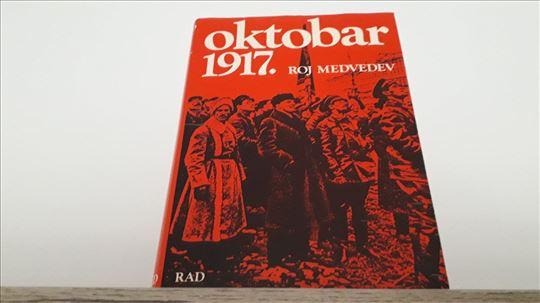 OKTOBAR 1917 Roj Medvedev RAD Beograd tvrd povez