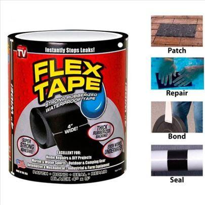 Flex tape vodootporna gumena traka za univerzalnu