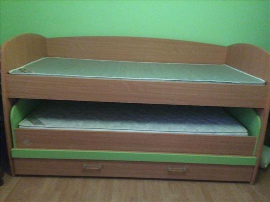 Dečiji krevet sa dušecima povoljno