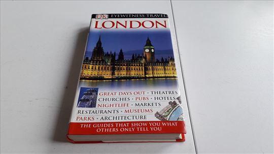 LONDON DK vodic ENG 450 strana LUX ilustrovan