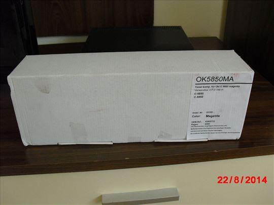 OKI C5850 MA Тoner Cartridge - Toner Kasete