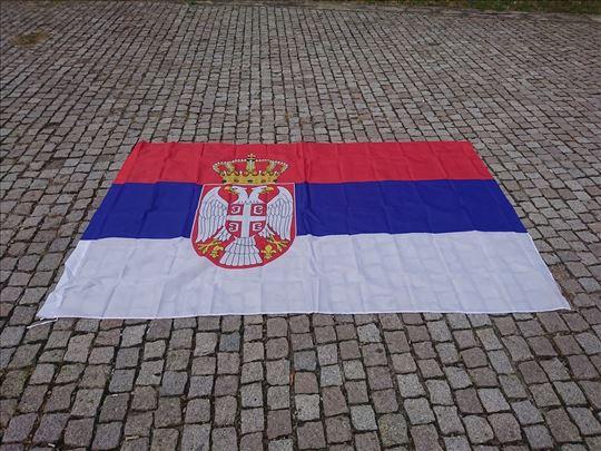 Zastava Srbije - 250x150cm - Velika