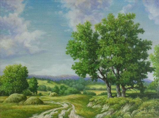 Umjetnička slika - Ljetni dan