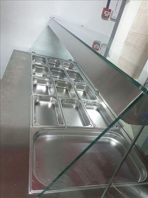 Topla vitrina za kuvana jela,kao nova.