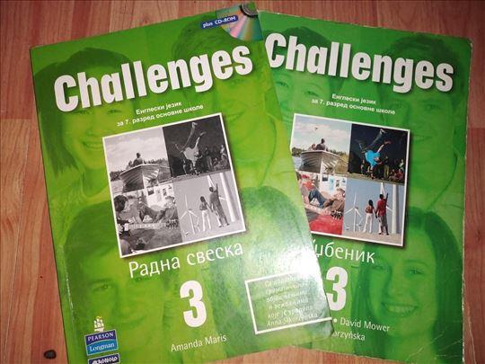Engleski jezik ' Challenges ' - za 7. razred