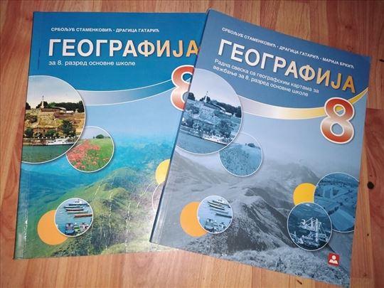 Geografija - udžbenik i radna sveska za 8. r