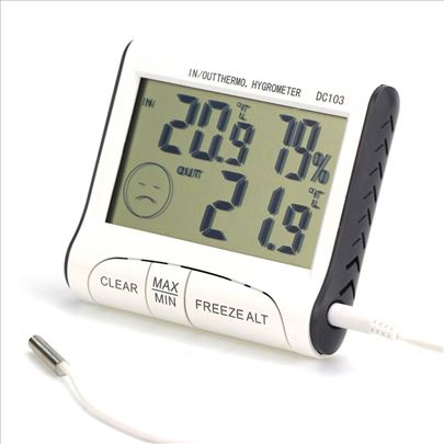 Digitalni termometar hidrometar DC103