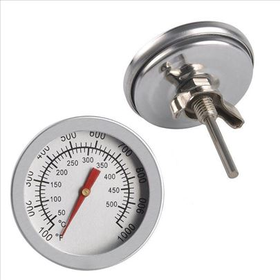 Termometar analogni za rostilj,susaru 0-500C
