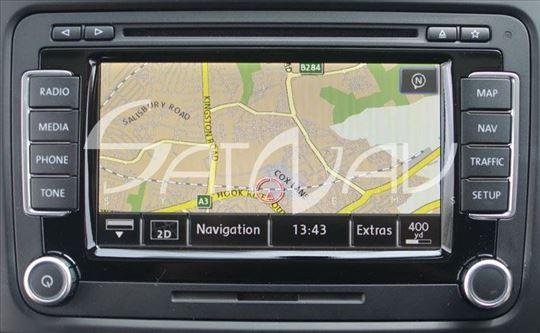 VW RNS 510 SKODA COLUMBUS mape mapa karta karte
