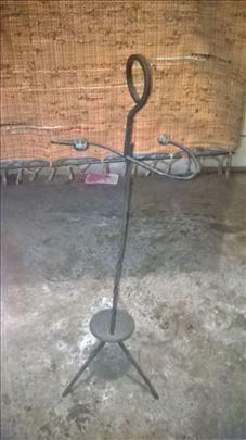 Stalak za kišobrane od kovanog gvožđa, očuvan