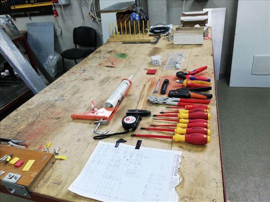 Električarske radove obavlja elektro inženjer