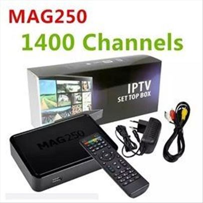 Akcija, MAG 250 original+ IPTV 6 meseci