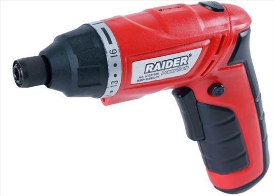 Akumulatorska šrafilica Raider