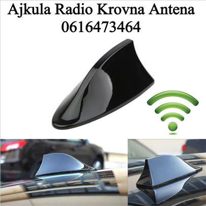 Ajkula Radio Krovna Antena za Auto