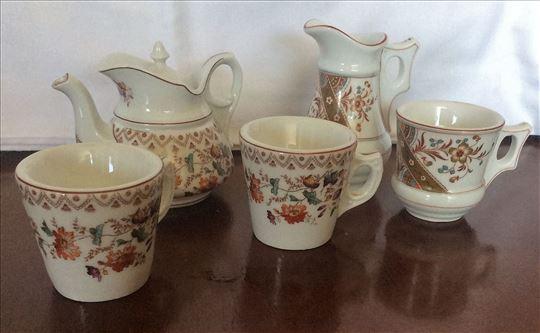 Antikvarni set za kafu ili čaj od stare keramike