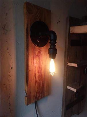 Zidna lampa retro industrial dizajn od cevi