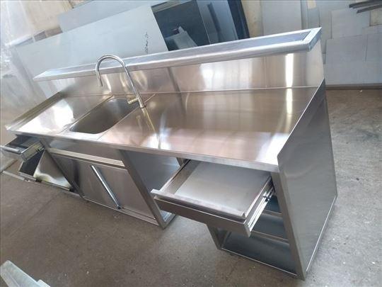 Radni, hladni stolovi i sudopere od prohroma