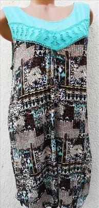 Tunika duga,haljinaOD VISKOZE* NOVA*48/XL (124)