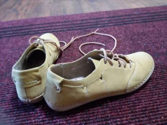 Kožne letnje cipele