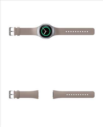 Samsung Gear S2 silikonska narukvica crne boje