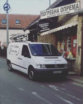 Pogrebne usluge, usluge prevoza i ketering
