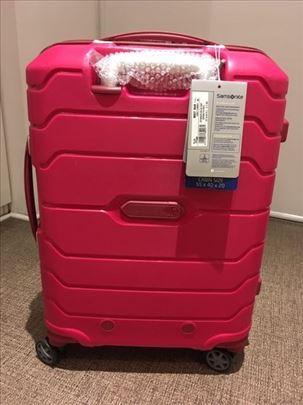 Novi nekorišćen tvrd Samsonite kabinski kofer