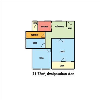 Dvoiposoban  BLOK- 70A