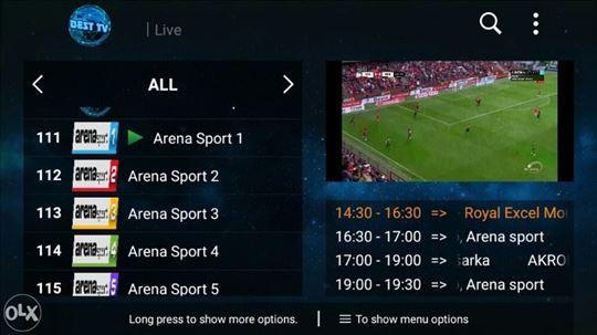 Svi kanali za 5e - IPTV (akcija)