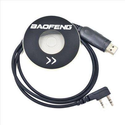 Kabl za programiranje baofeng radio stanica