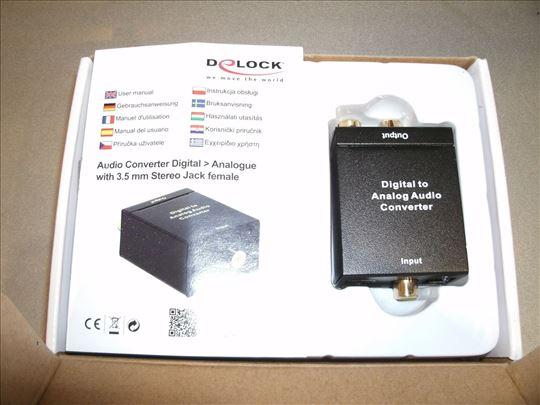 Delock digitalno-analogni audio konverter !