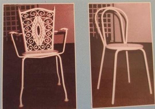 Prodaja kalupa za plastične elemente za stolice