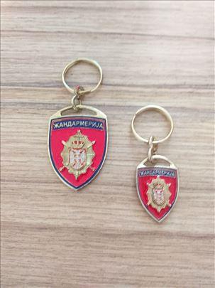 Žandarmerija Srbije, privesci