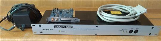 M audio delta 10/10 PCI profesionalna zvucna karta