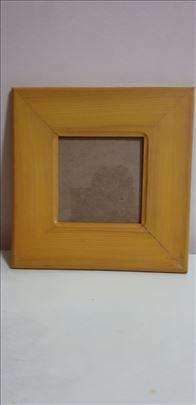 Zara-Žuti drveni ram-Made in Italy