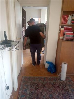 Čišćenje stanova i odnošenje kabastog