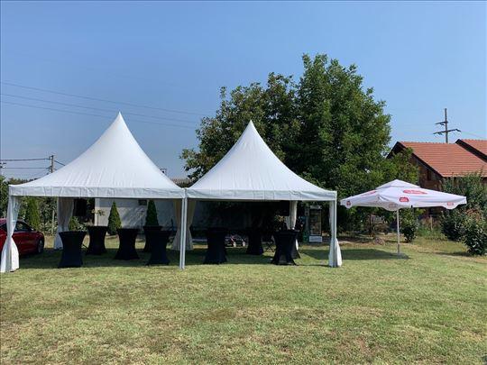 Rentiranje pagoda - paviljona 5mx5m