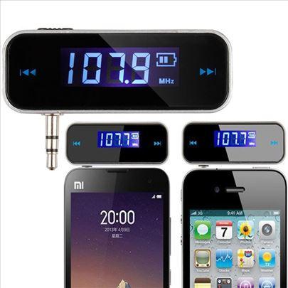 Mini FM Transmiter sa 3,5 mm priključkom