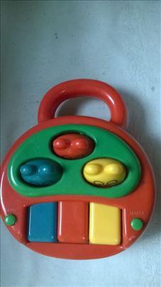 Igračka muzička za bebe, 3 vrste muzike demo