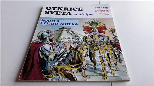 Otkrice sveta u stripu Kortes i zlato Asteka